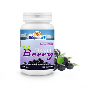 Acai Berry 500mg – 120 Capsules