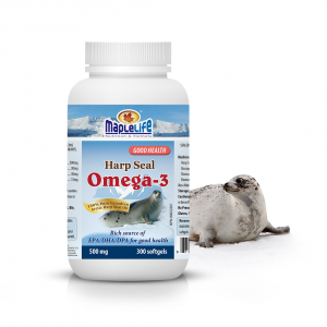 Harp Seal Oil Softgels 500mg – 300 softgels