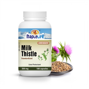 Milk Thistle 500mg – 180 Softgels