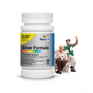 Multivitamin and Mineral Supplement (Silver Formula) – 100 Tablets