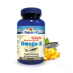 Omega 3 Fish Oil 18/12 Softgels 1000mg – 100 softgels