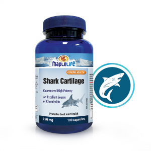 Shark Cartilage Capsules 750mg – 100 Capsules