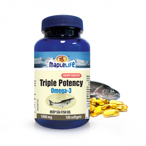 High Potency Fish Oil Softgels 100mg 30/20 – 100 softgels